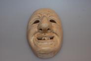 Fasnacht Maske Schemme  Holz