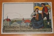 PK 13.Liederfest Trossingen 1914