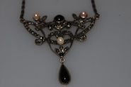 Antikes Jugendstil Collier 925 Silber