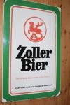 Emailschild Zoller Bier Sigmaringen