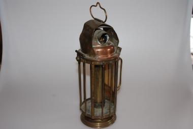 Museale seltene Kerzenlampe
